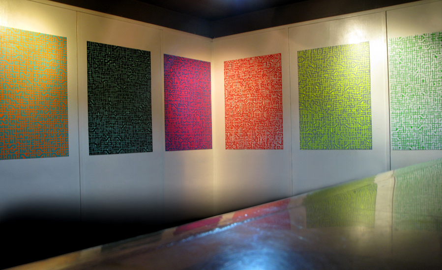 I am a Computer, installation view, 2009